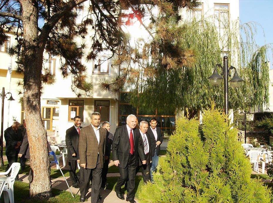 Makedonya Devlet Bakani Nezir Vakfimizi Ziyaret Etti