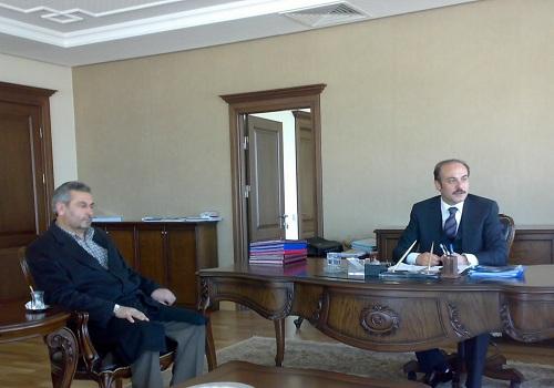 Yurt Dişi Türkler Ve Akraba Topluluklar Başkanliği Ziyareti
