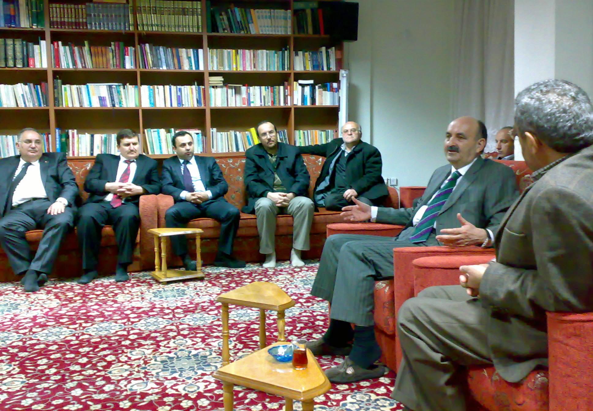 Müezzinoğlu'ndan Vakfimiza Ziyaret