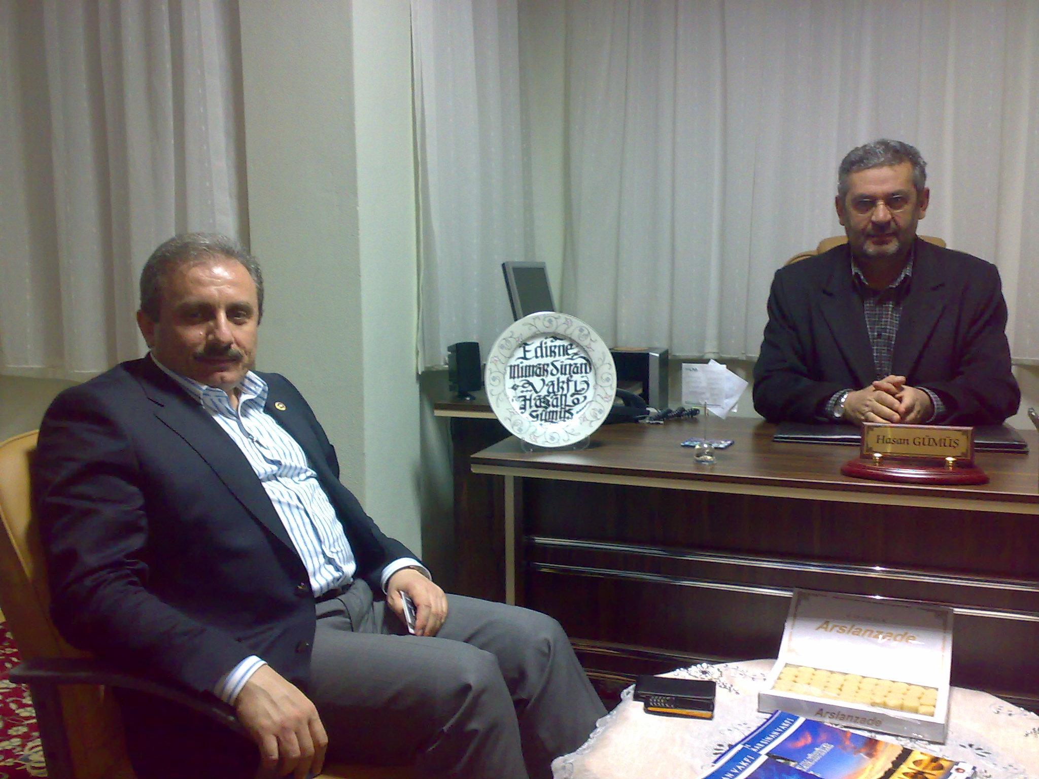 Prof. Şentop'un Ziyareti