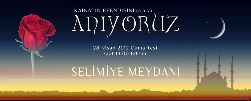 28 Nisan'da Selimiye Meydaninda